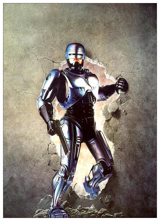 Хардпостер (на твёрдой основе) RoboCop / РобоКоп